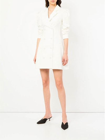Double-Breasted Blazer Dress