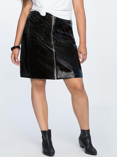 Vinyl Mini Skirt