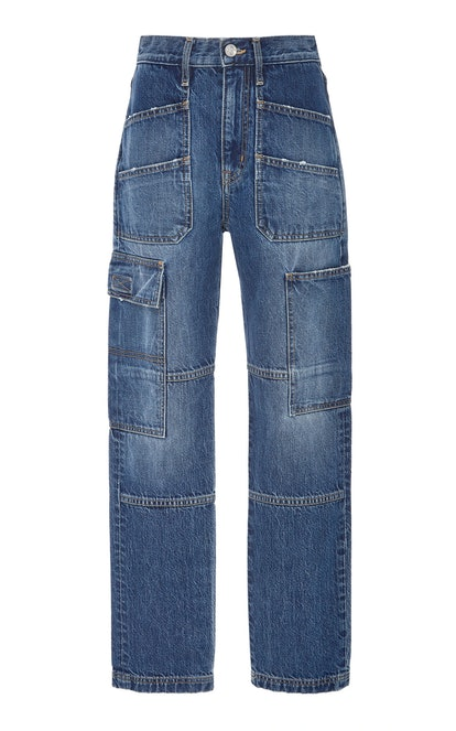Savior High-Rise Cargo Jeans