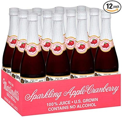 Martinelli's Sparkling Apple Cranberry Juice (Pack Of 12)