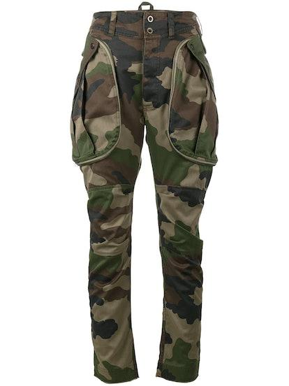 Oversized Pocket Cargo Trousers