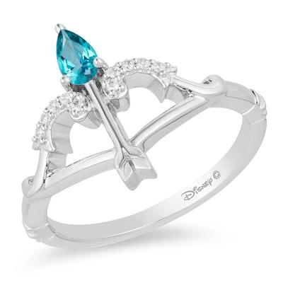 Enchanted Disney Fine Jewellery Diamond Merida Arrow Ring