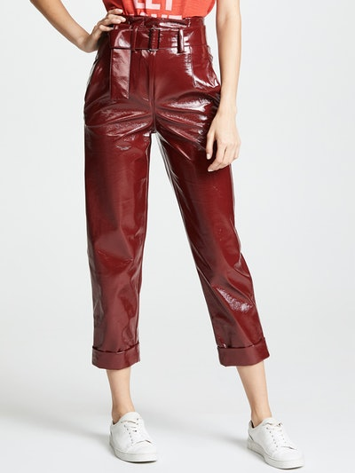 Crinkle PVC Trousers