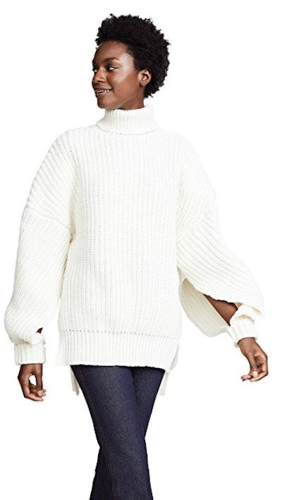 Gap Sleeve Sweater