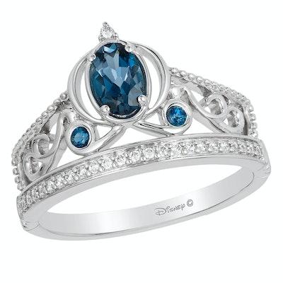 Enchanted Disney Fine Jewellery Diamond Cinderella Ring