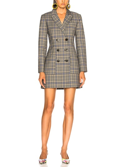 Lucas Suiting Double Breasted Blazer Dress