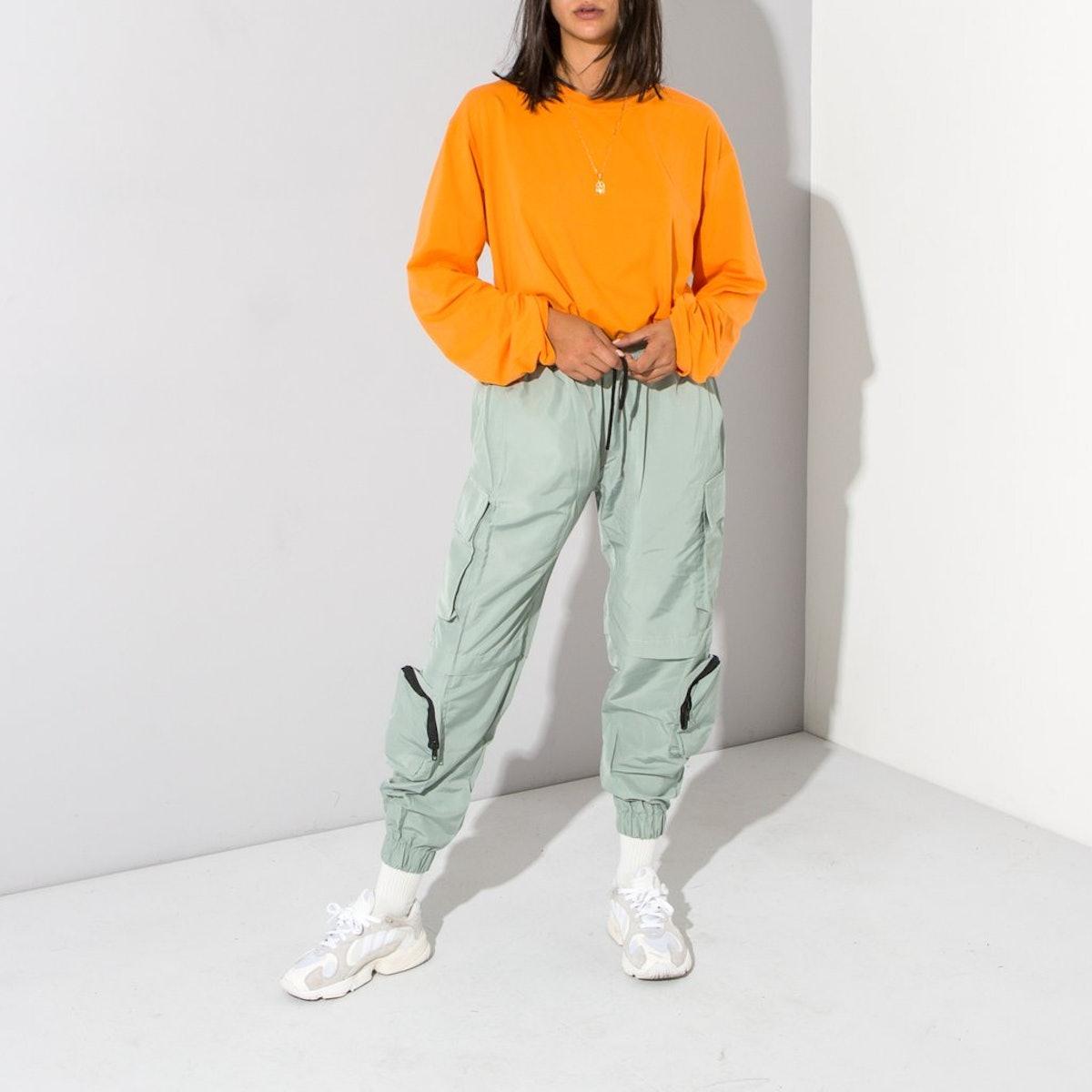 Multi-Pocket Track Pants