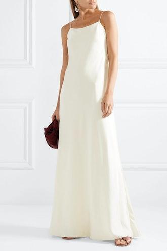 Ebbons Silk-Twill Maxi Dress