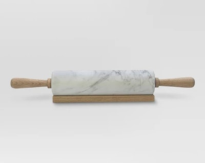 Marble Rolling Pin with Wood Handles - Threshold