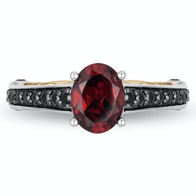 Enchanted Disney Fine Jewellery Diamond Evil Queen Ring