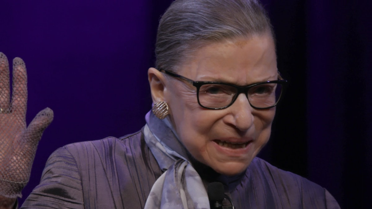 Ruth Bader Ginsburg's Rule For Dealing With Sexism Can Inspire All Of Us, Say The Directors Of Her Documentary