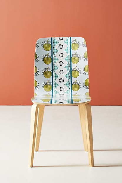 SUNO for Anthropologie Tamsin Dining Chair in Green