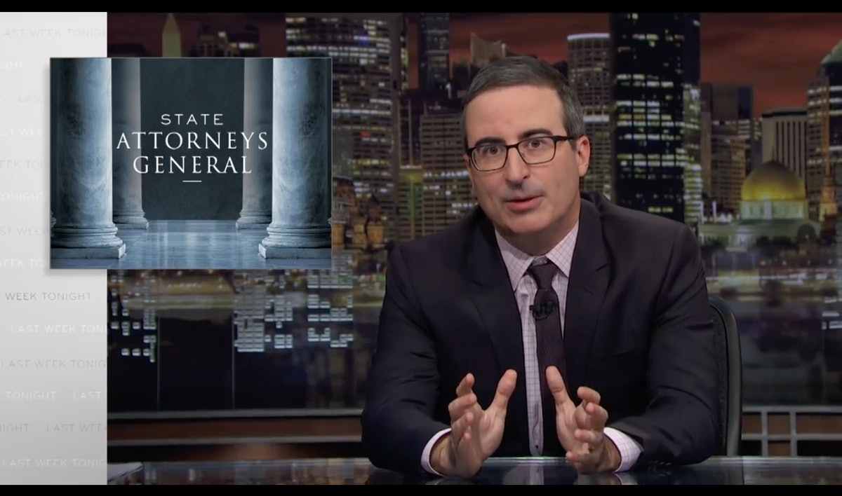 John Oliver's State Attorneys General Segment Breaks Down Why Their Jobs Are So Important