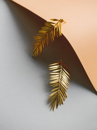 YUKA - Palm Leaves Earrings