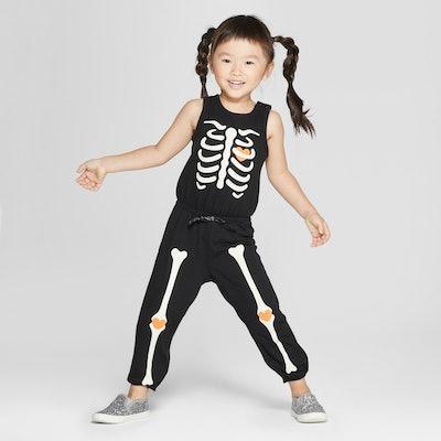 Cat & Jack Sleeveless Skeleton Bodysuit