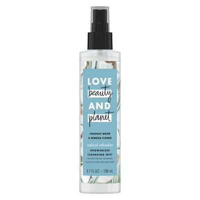 Love and Beauty and Planet Coconut Water & Mimosa Flower Cleansing Body Mist