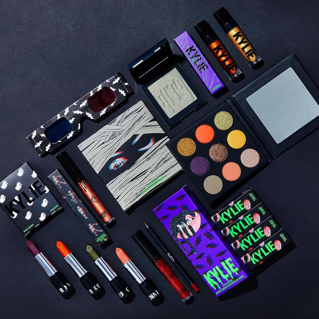 Halloween 2020 Palette Kylie What's In Kylie Cosmetics' Halloween Collection? Get Ready To Get