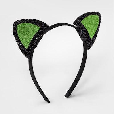 Glitter Cat Ears Headband