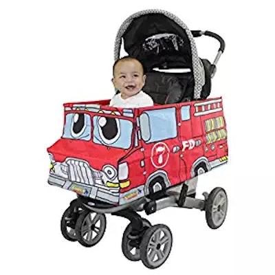 Stroller Costumes Fire Truck