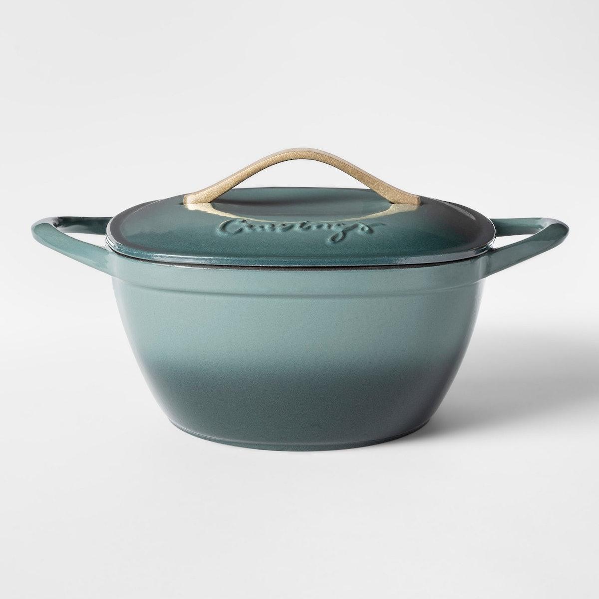 Cravings by Chrissy Teigen Cast Iron Enameled Dutch Oven