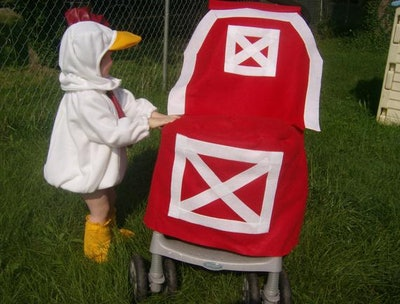Barn Stroller Halloween Costume