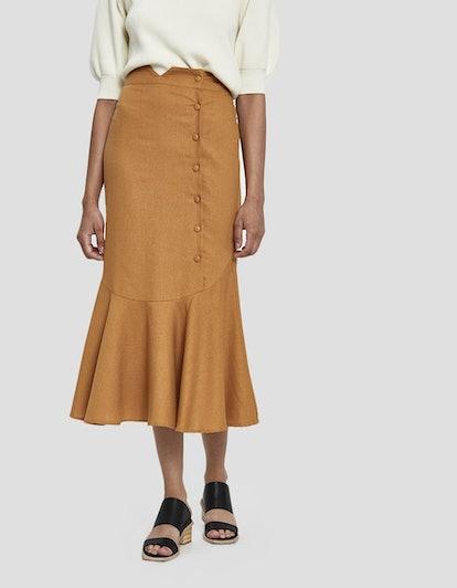 Farrow Mari Side Button Skirt