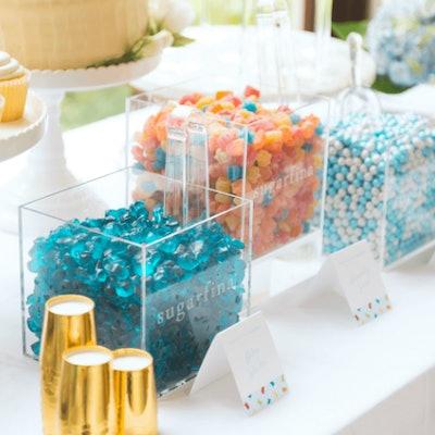Boo Bear Baby Shower Candy Bar