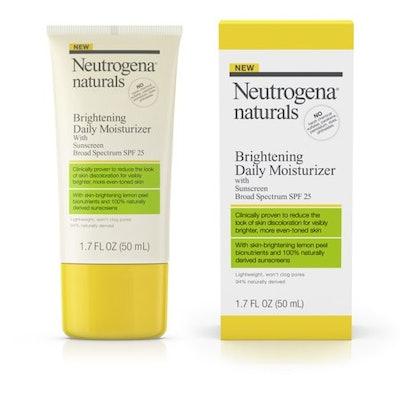Neutrogena Naturals Brightening Daily Moisturizer SPF 25