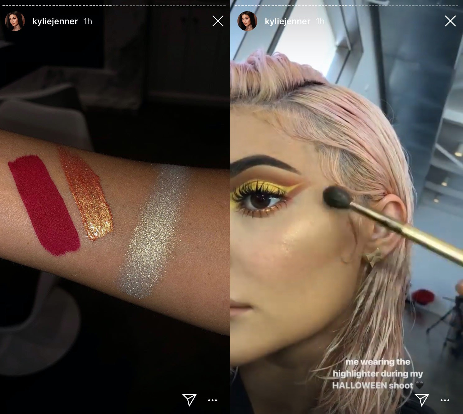 Whats In The Kylie Cosmetics Halloween 2018 Collection Glosses