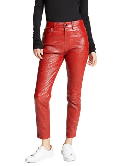 Patent Leather Lou Pants