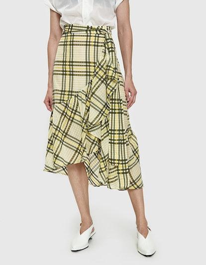 Farrow Camu Ruffle Skirt