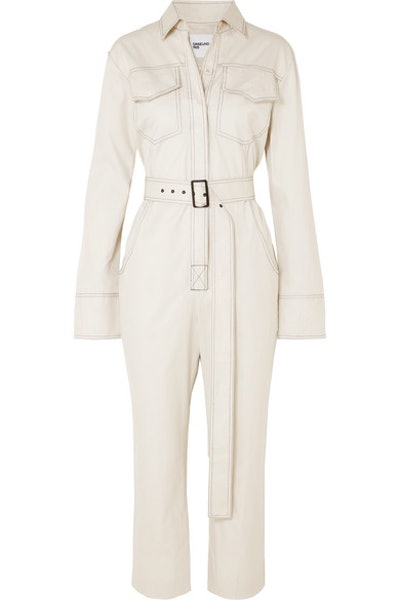 Workwear Belted Jumpsuit