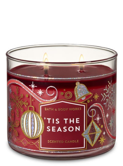 'Tis The Season 3-Wick Candle