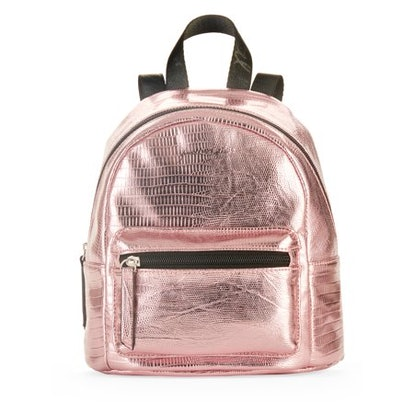 Kendall + Kylie For Walmart Pink Metallic Snake Backpack