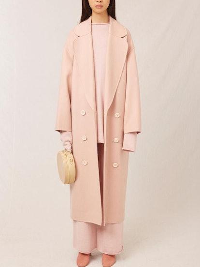 Wool Cashmere Oversized Coat