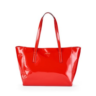 Kendall + Kylie Red Patent Tote