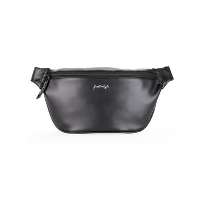 Kendall + Kylie for Walmart Black Faux Leather Large Fanny Pack