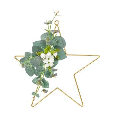 SMYCKA Artificial Wreath Indoor/Outdoor Star