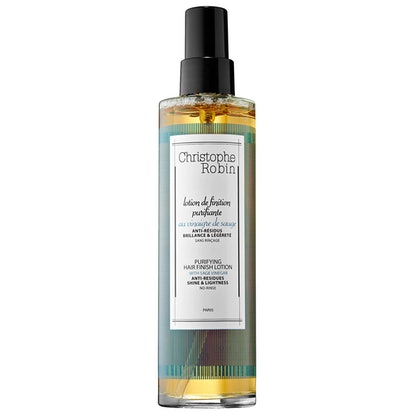 Purifying Hair Finish Lotion with Sage Vinegar