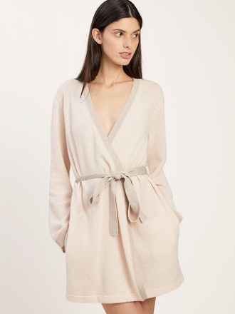 Bella cashmere robe from Morgan Lane, available to shop on Shopbop.