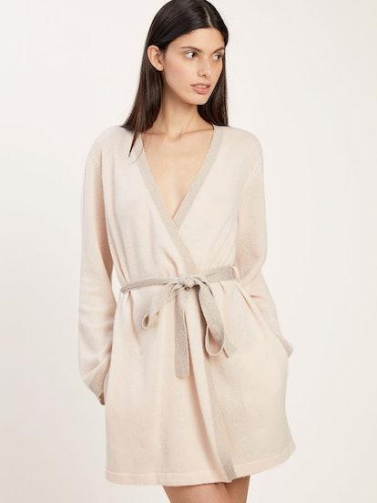 Morgan Lane Bella Robe In Cashmere Vanilla
