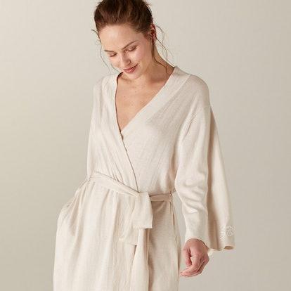 Khimori Silk Cashmere Robe