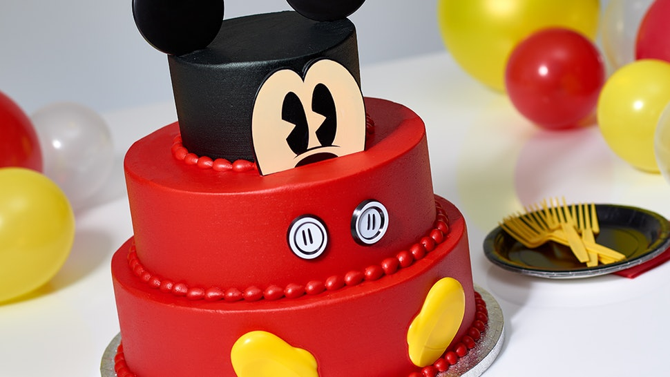 Sams Club Has A 3 Tier Mickey Mouse Cake That Feeds 66 People Heres How To Order It