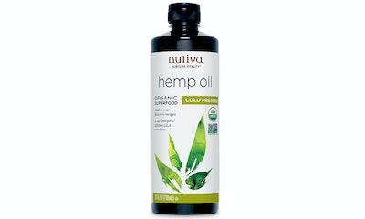 Nutiva Organic Cold-Pressed Hemp Seed Oil, 24 Ounces