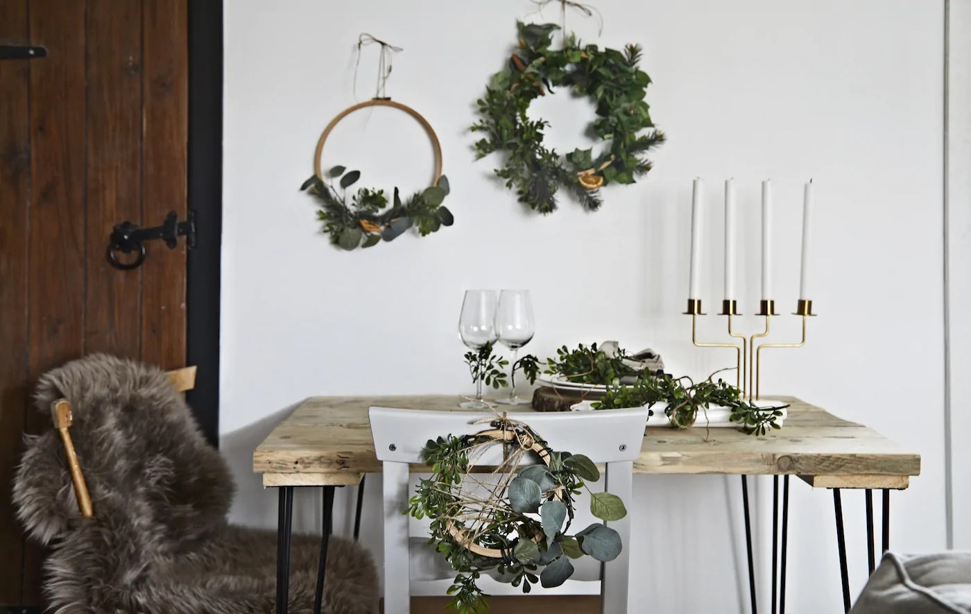 14 Cheap Holiday Decorations From Ikea That Look Super Luxe