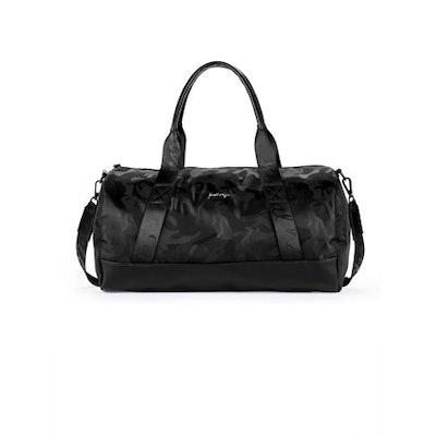 Kendall + Kylie Black Camo Duffle Bag