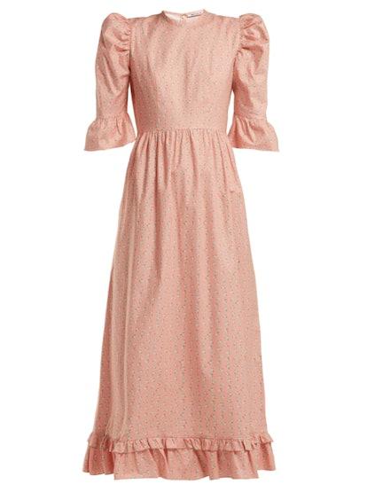 Prairie Floral Print Dress