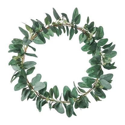 SMYCKA Artificial Wreath, Green