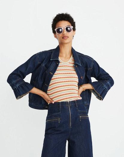 Muster Denim Jacket