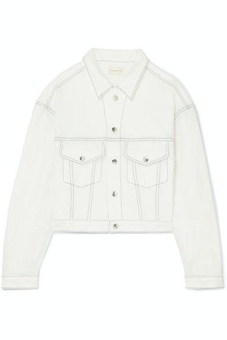 Morgo Cropped Cady Jacket